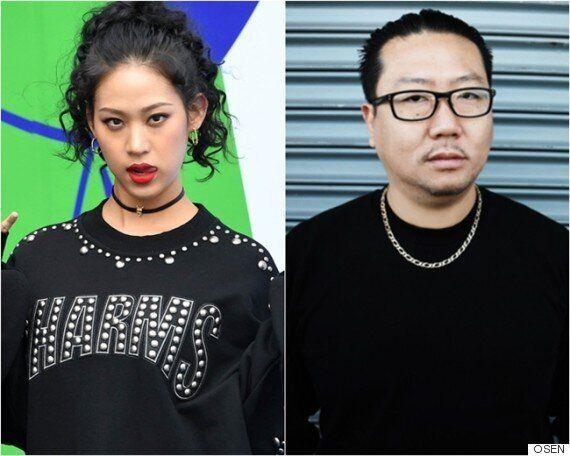 나다, 커크 김과 열애..'힙합계서