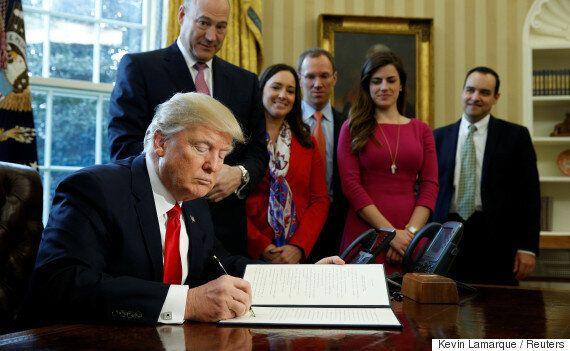 월스트리트 규제를 약속했던 도널드 트럼프의 규제 완화가 곧 본격적으로