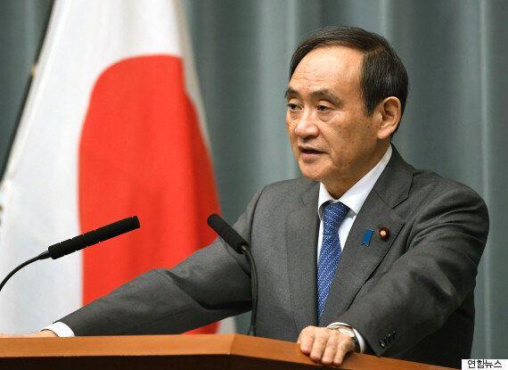 북한의 미사일 발사에 대한 일본의 공식