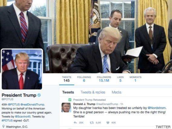 이방카 트럼프의 의류 브랜드를 퇴출시킨 노드스트롬을 도널드 트럼프가