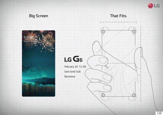 LG 스마트폰 G6은 전면이 화면이