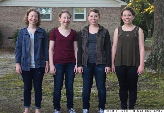 '폭소하는 네 쌍둥이'가 고등학생이
