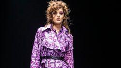 '자궁 드레스'가 스톡홀름 패션위크 런웨이에