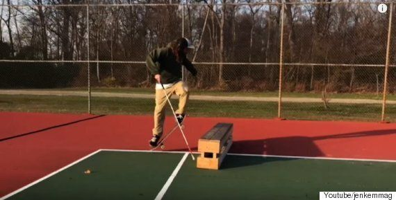 시각장애인인 이 스케이트보더는 아무것도 두렵지
