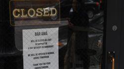 미국 전역의 식당들이 하루 동안 문을 닫은