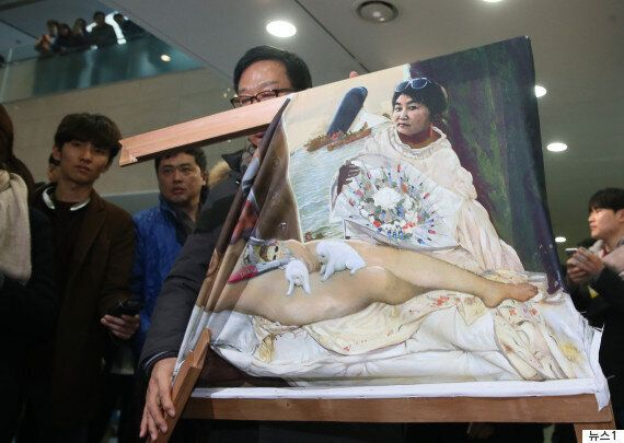 56개 예술단체가 '더러운 잠' 훼손에 대한 사과를