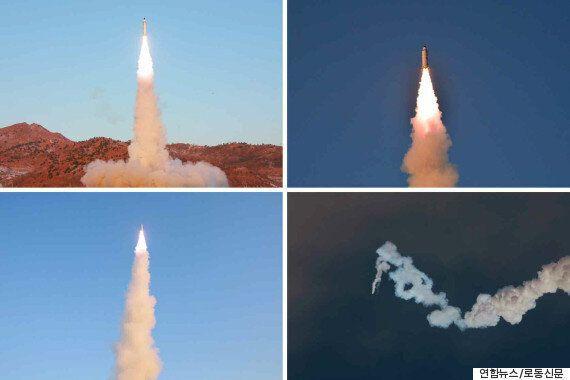 북한은 '새로운 핵전략무기'인 북극성 2형의 발사 성공으로 ICBM 개발에 더