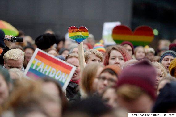 핀란드가 동성결혼 법제화를 완전히