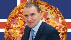 아이슬란드 대통령은 파인애플 피자가