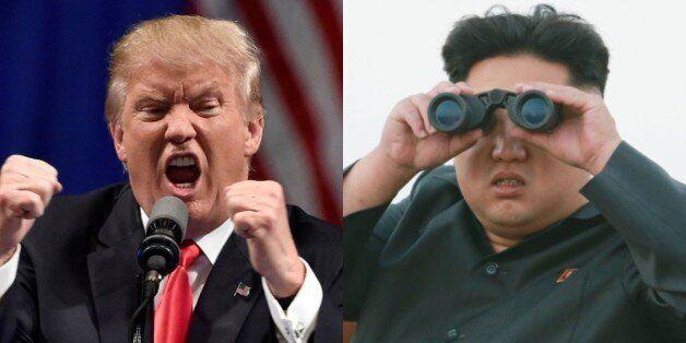 김정은의 트럼프