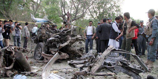 아프간 카불 대법원 앞 테러