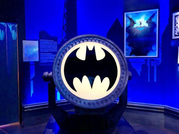 Exposição Batman 80 está montada no Memorial da América Latina, em São...