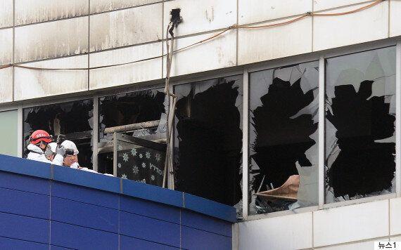 동탄 메타폴리스 화재 당시 관리업체가 '스프링클러'와 '화재경보기'를