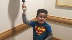 6살 아이가 항암 치료 종료를
