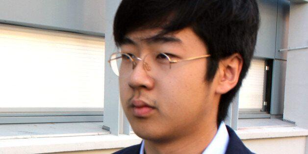김정남의 아들 김한솔이 지난 2013년 8월 프랑스의 대학에 등교하는