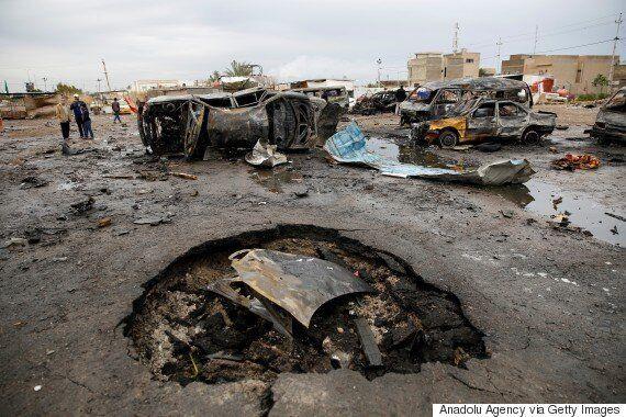 바그다드에서 IS테러로 100여명의 사상자가