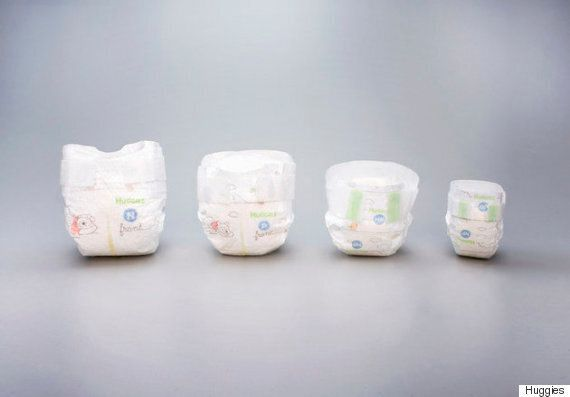 하기스가 1kg 미만의 미숙아들을 위해 초소형 기저귀를