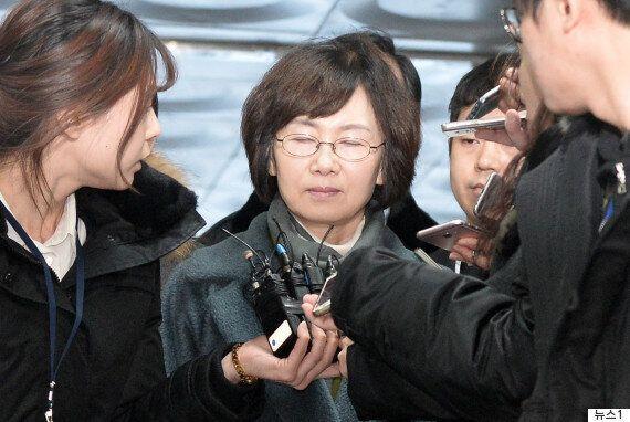 '정유라 특혜' 정점에 있던 최경희 이화여대 총장이