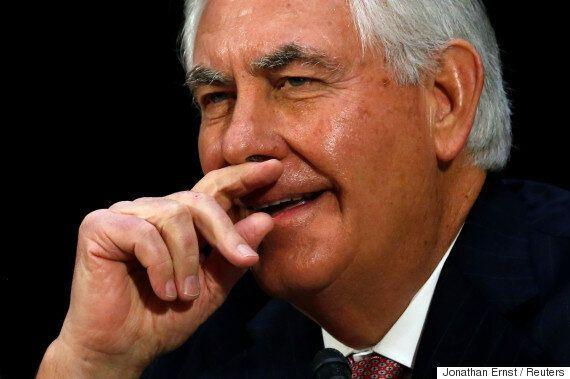 틸러스 미 국무장관은 한국 방위비 분담에 대해