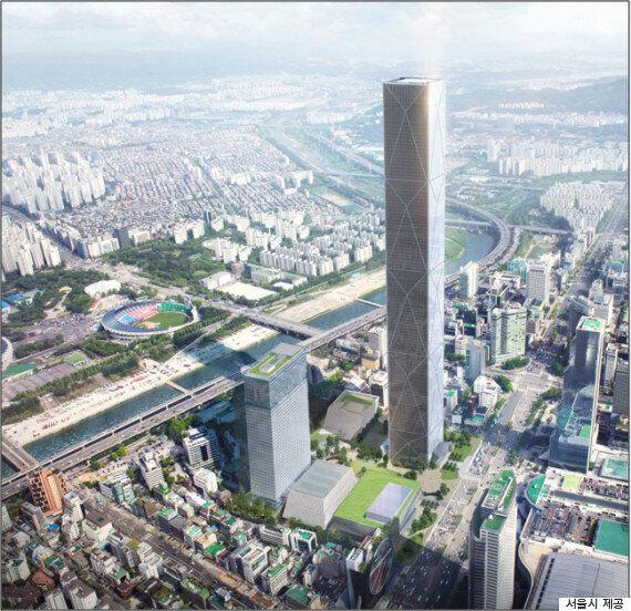 현대차 신사옥 '국내 최고층' 도전...'제2롯데'보다 14m