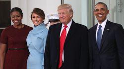 트럼프가 백악관에 도착했다(사진,