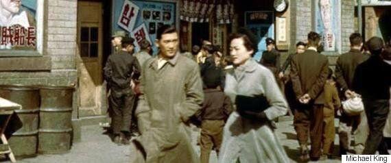 해방 직후 생활사를 찍은 컬러 사진들이