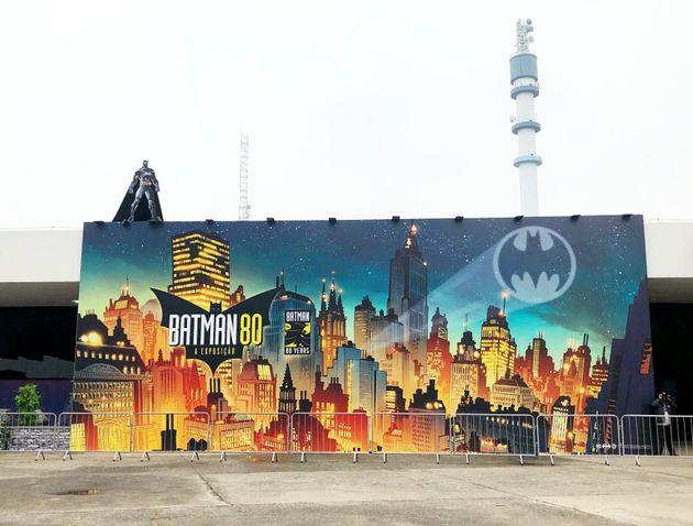 Até dezembro, Batman 80 fica em cartaz no Memorial da América Latina, na Barra Funda, zona oeste de São