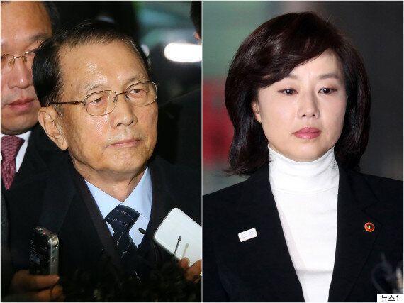 박근혜 정부 실세 김기춘-조윤선 구치소 대기에