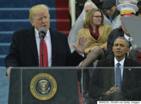 도널드 트럼프 미국 대통령의 취임사는 그 어느 때보다