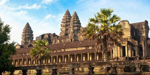 Angkor Wat, located in Siem Reap