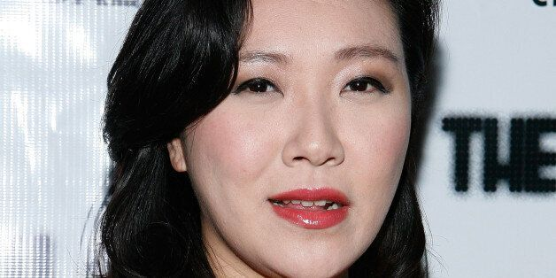 Rose Jang attends The Little Death concert after party at The Chelsea Room on January 20, 2011 in New...