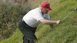 트럼프의 골프 사진이 11년 만에 빛을 본