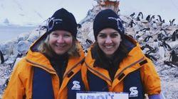 남극에서도 '여성들의 행진'이