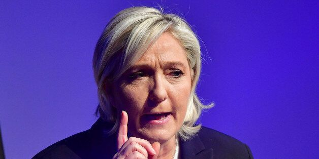 KOBLENZ AM RHEIN, GERMANY - JANUARY 21: Marine Le Pen, leader of the French Front National political...