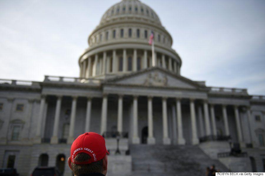 [화보] 미국 제45대 대통령에 취임할 도널드 트럼프가 워싱턴에