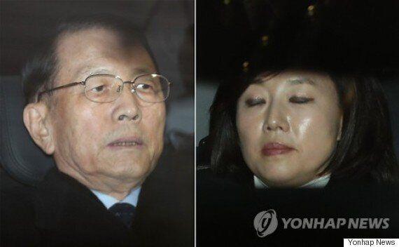 특검이 김기춘·조윤선 구속영장
