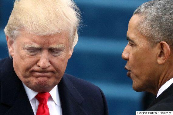 오바마가 트럼프의 '반 난민' 행정명령에 반대하는 성명을