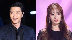 배우 이동건과 티아라 지연이