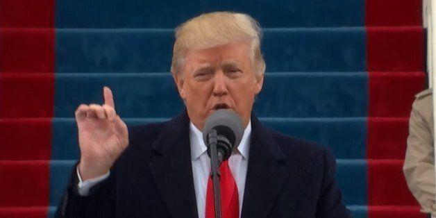 트럼프가 제 45대 미국