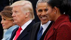 오바마, 트럼프도 전임자의 여유는 따를 수