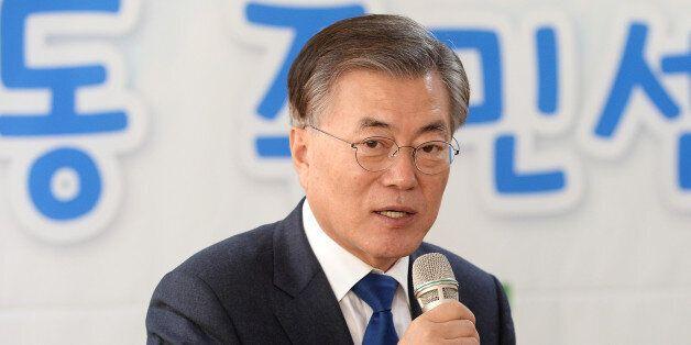 문재인이 '반기문의 공동정부론'에 비판을
