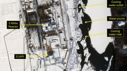 북한이 영변의 원자로를 다시