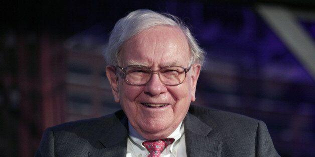 DETROIT, MI -Billionaire investor Warren Buffett speaks at an event called, 'Detroit Homecoming' September...
