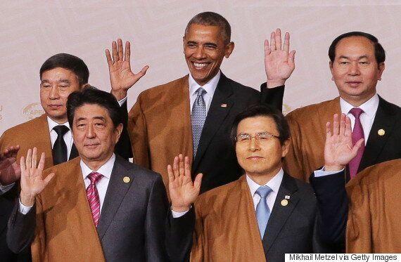 황교안 대통령 권한대행이 도널드 트럼프에게 장문의 취임 축하서한을