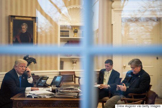 도널드 트럼프가 불과 며칠 동안에 이란, 멕시코, 오스트레일리아에 싸움을