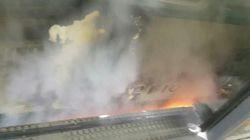 '잠실새내역 화재'에 대한 승객들의