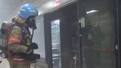 '잠실새내역 화재'에 대한 지하철 책임자의