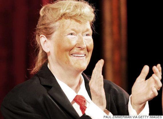 도널드 트럼프는 사실 메릴 스트립의