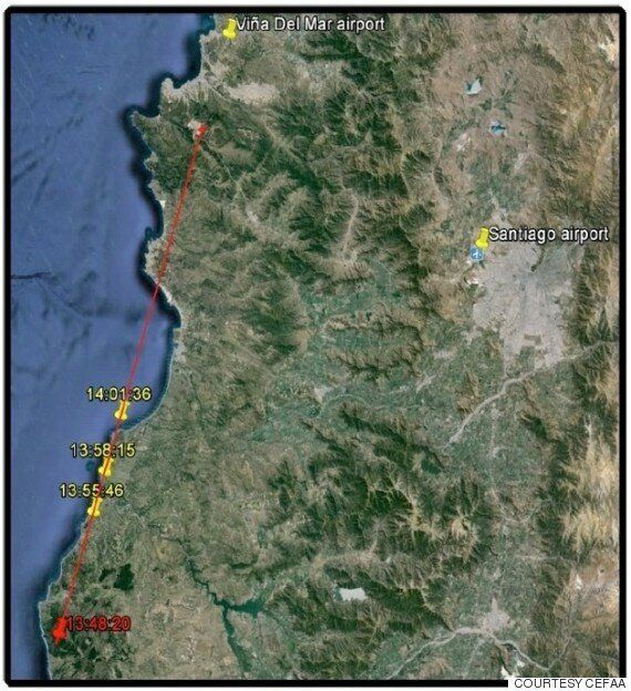 믿을 수 없을 정도로 놀라운 UFO 영상이 칠레 해군에 의해