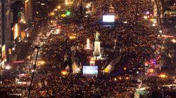 세월호 생존 학생들이 '1천일' 집회에